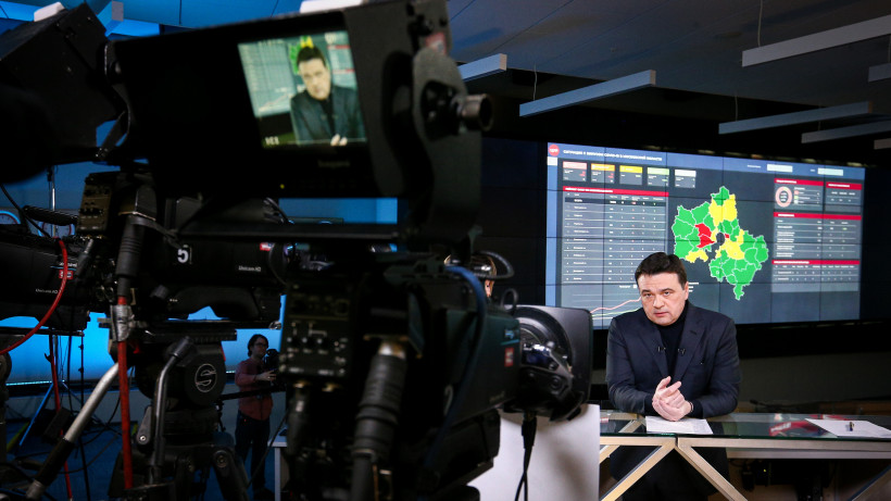 Губернатор рассказал о мерах профилактики COVID-19 в эфире телеканала «360»