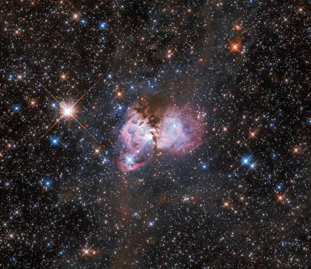"""Hubble снял """"звездную колыбель"""" в туманности Тарантул"""