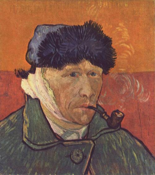 Миф: Винсент Ван Гог отрезал себе ухо. Факт: художник отрезал себе лишь кусочек мочки.