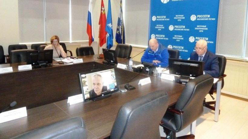 Энергетики «Россети Московский регион» отработали взаимодействие с ЕДДС округов при ЧС