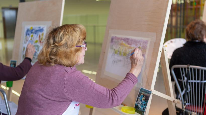 Мастер-класс по живописи в Новом Иерусалиме