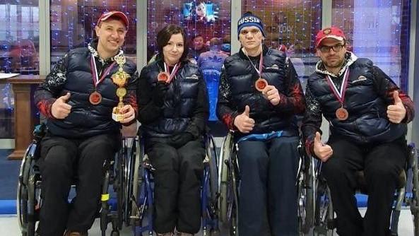 Керленгисты на колясках из Подмосковья стали третьими на чемпионате России