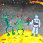 Конкурс рисунков «Веселый космос»