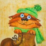 Мастер-класс по правополушарному рисованию «Котик Василий»