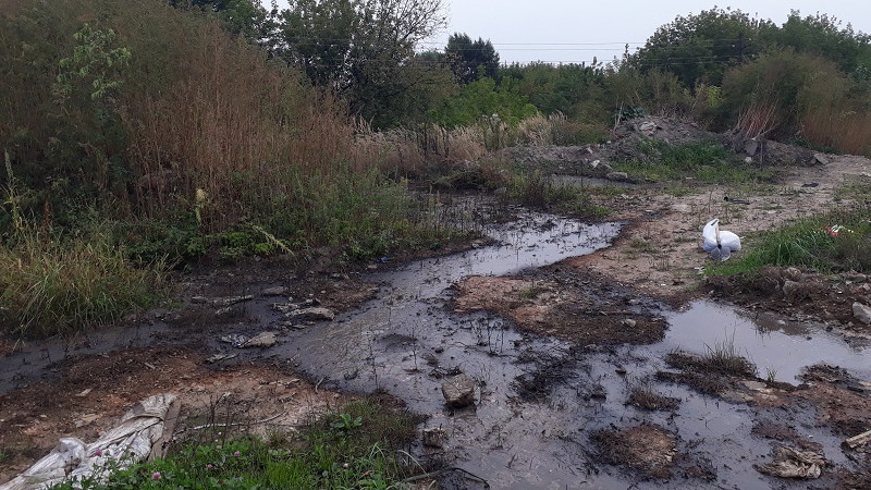Минэкологии расследует факты загрязнения земель и ручья в Солнечногорске
