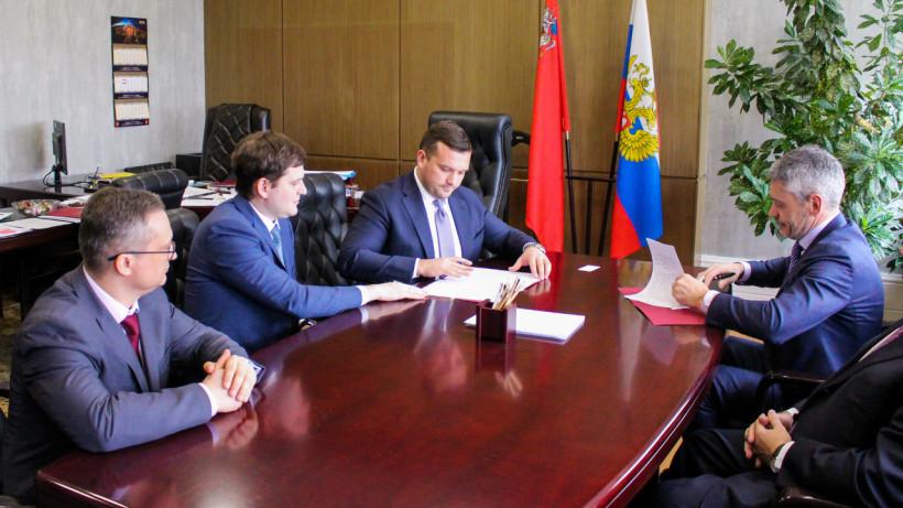 Минстрой Подмосковья и ассоциация «Электрокабель» подписание соглашение о взаимодействии
