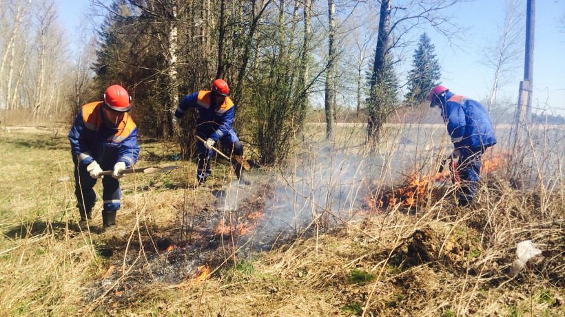Мособлэнерго готовится к прохождению пожароопасного периода 2020 года