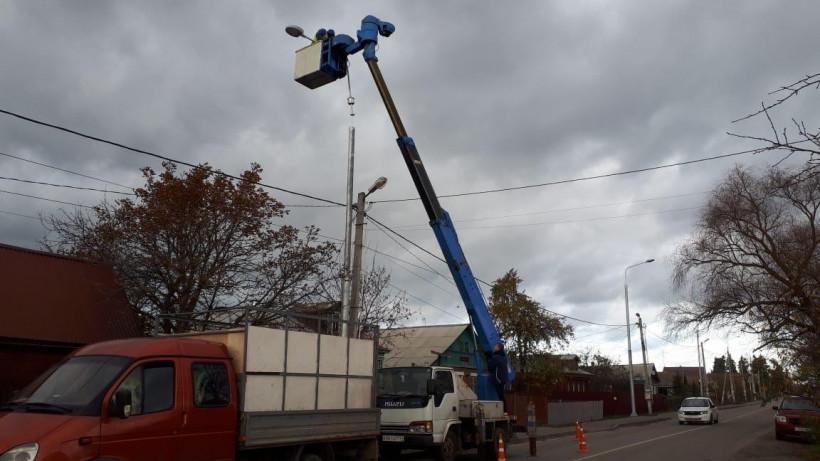Около 29 км новых линий освещения построят вЩелкове в 2020 году