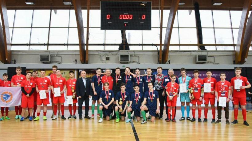 Первых победителей финала соревнований «Мини-футбол в школу» определили в Щелкове