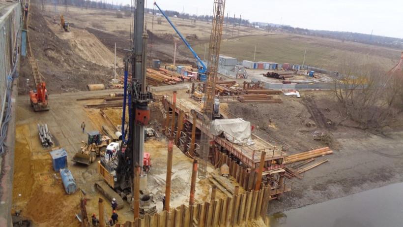 Подготовку к сборке пролета Афанасьевского моста начали в Воскресенске