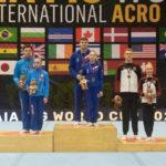 Подмосковные акробаты завоевали медали этапа Кубка мира