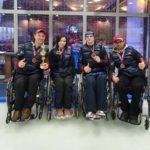 Подмосковные керлингисты на колясках стали бронзовыми призерами чемпионата России