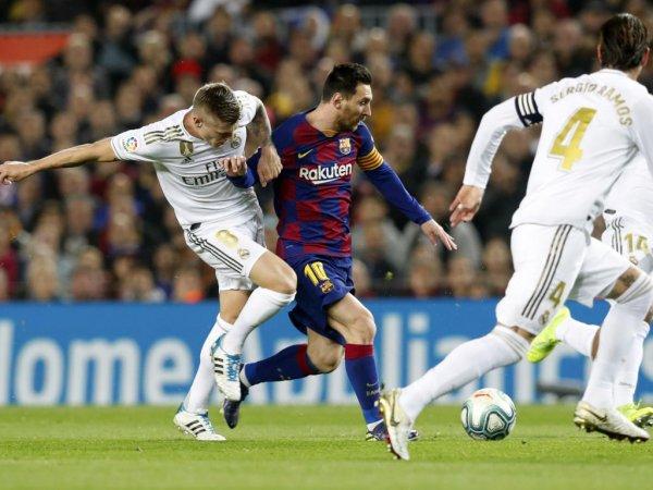 """""""Реал Мадрид"""" и """"Барселона"""" сойдутся в эль-класико"""
