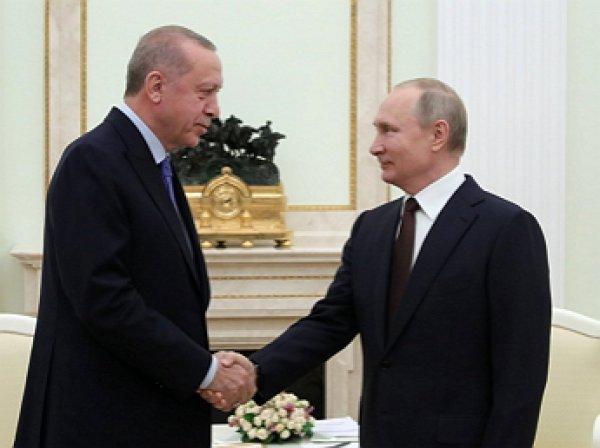 Стали известны итоги переговоров Путина и Эрдогана по Сирии