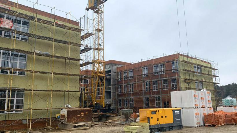 Строительство школы в поселке Пески Коломенского округа завершится в августе
