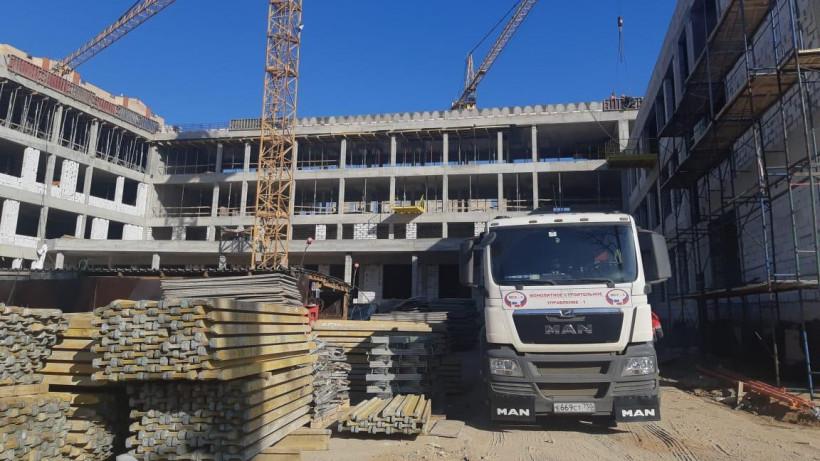 Строительство учебного корпуса на 400 мест в Балашихе завершится в августе