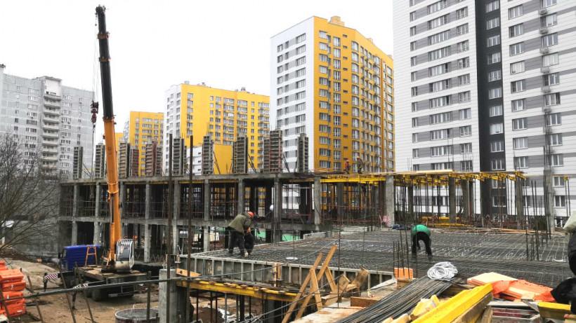 Строительство учебного корпуса Видновской гимназии завершится в декабре 2020 года