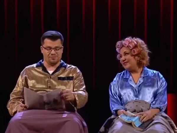 """""""Так он же вялый!"""": ссора Харламова и Федункив перед 8 марта в Comedy Club попала на видео"""