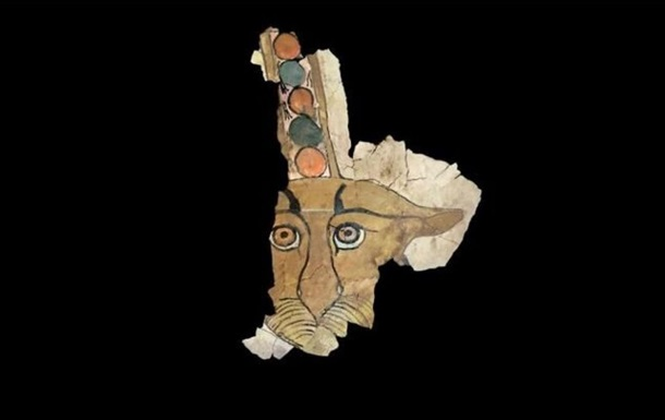 В Египте найден уникальный саркофаг с изображением леопарда