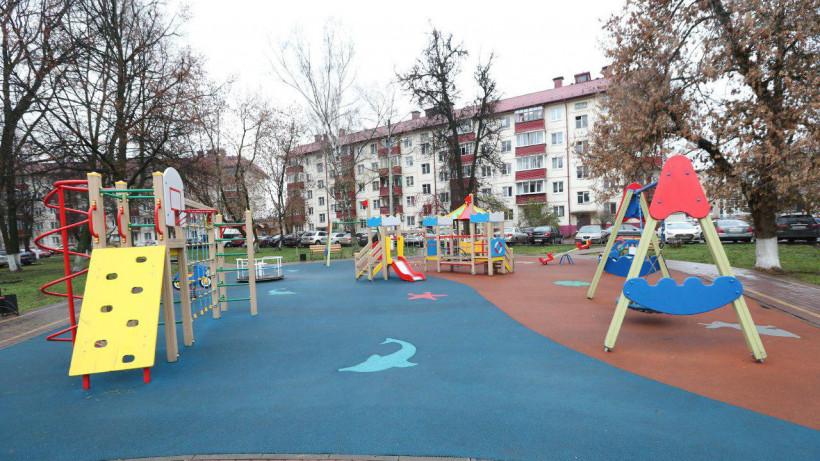 В городском округе Подольск утвердили адреса установки 10 детских площадок