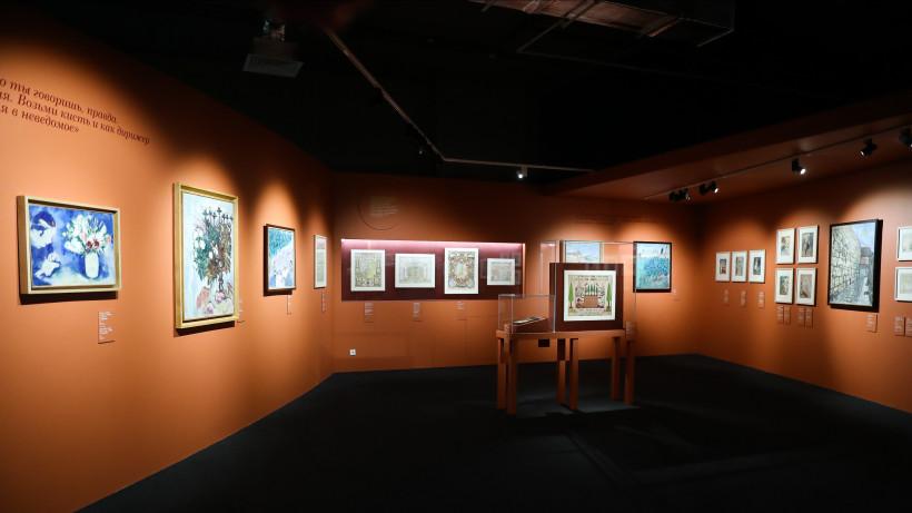 Выставку Шагала в музее «Новый Иерусалим» посетило более 100 тыс. человек