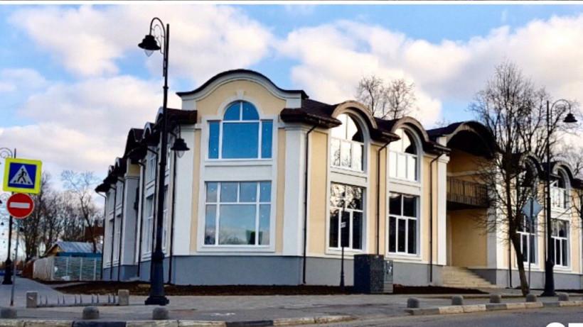 Завершено строительство ТРЦ в центре Сергиева Посада