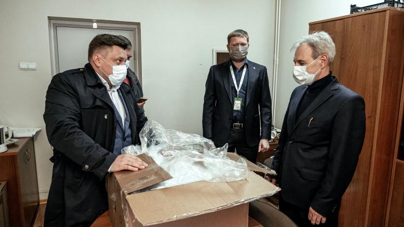 Бизнес Подмосковья поддерживает врачей и волонтеров в период пандемии