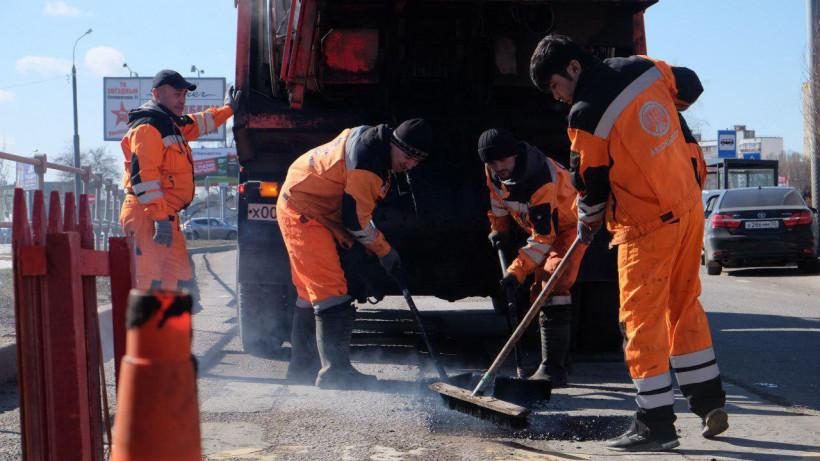 Более 14 тысяч ям устранили на дорогах Подмосковья за неделю