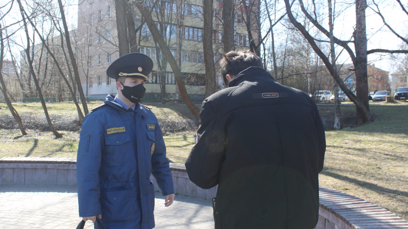 Более 200 нарушений режима самоизоляции выявили в Подмосковье за сутки