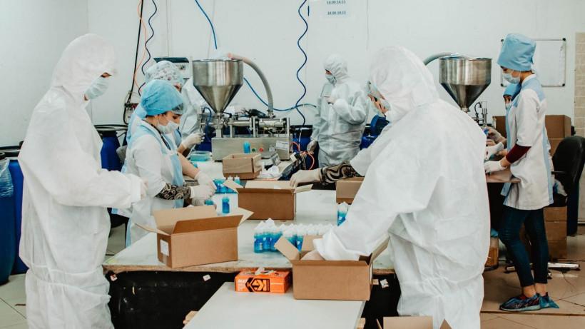Более 80 тыс. тонн средств дезинфекции производят в Подмосковье ежедневно