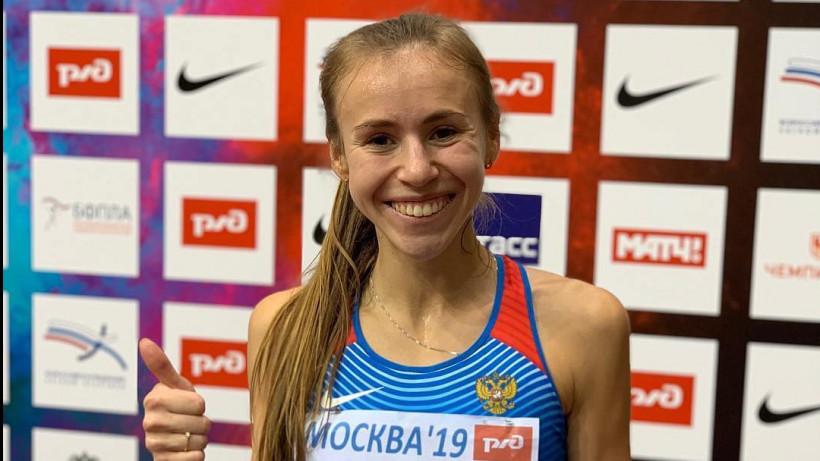 Чемпионка России по легкой атлетике Анастасия Александрова провела тренировку «Живу спортом»