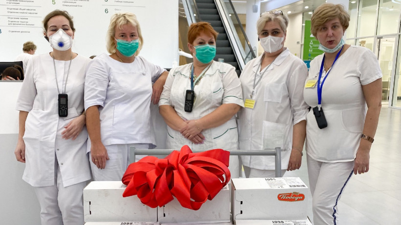 Детям – колбасу, врачам – цветы: как бизнесмены Подмосковья поддерживают людей в пандемию