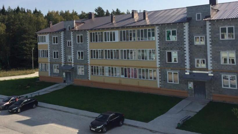 Дом с квартирами для переселенцев из аварийного жилья в Егорьевске ввели в эксплуатацию