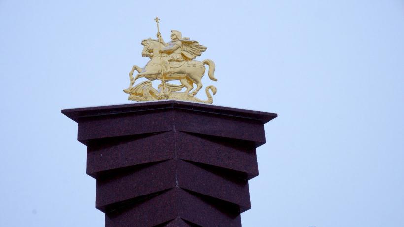 Стелу «Населенный пункт воинской доблести» торжественно открыли в Рузском городском округе