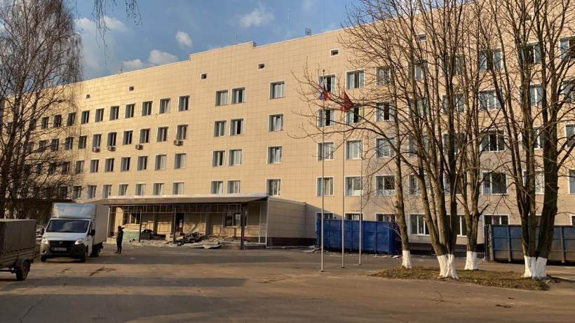 Инфекционный центр появится в Бронницкой районной больнице до конца апреля