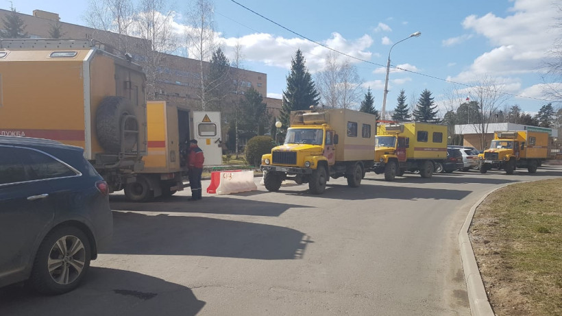Энергетики устранили последствия замыкания в госпитале для ветеранов войн в Солнечногорске