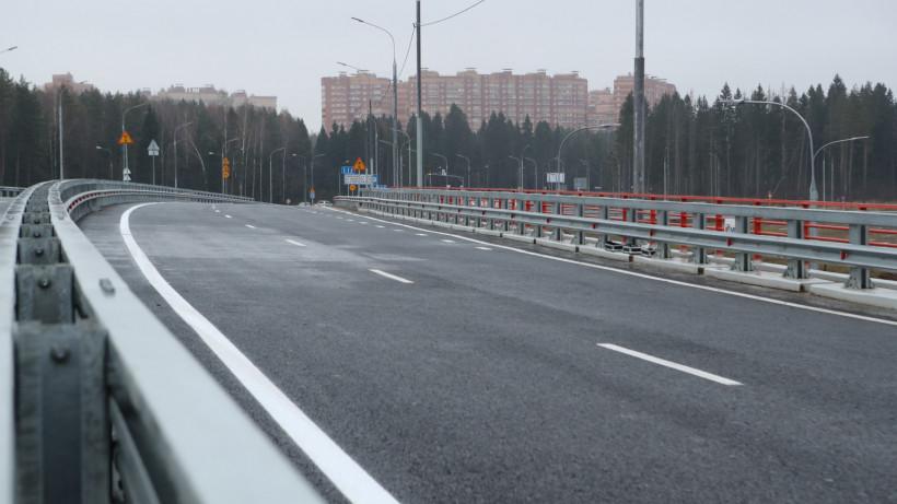 Открытие движения на 5-м участке ЦКАД в обход Звенигорода