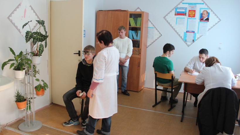Медкомиссия перед призывом