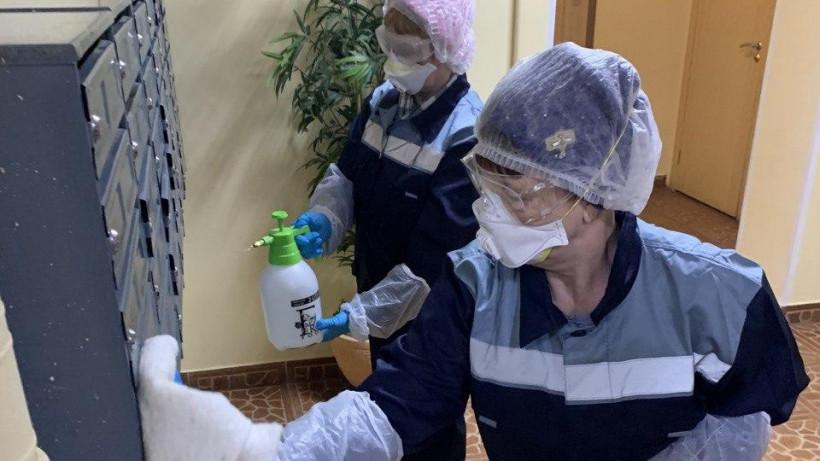 Нарушения дезинфекции подъездов устранили в 984 многоквартирных домах Подмосковья