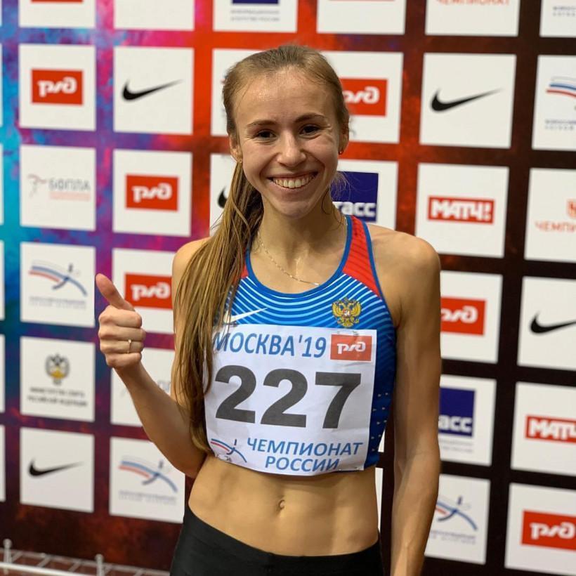 Онлайн тренировку «Живу спортом» провела легкоатлетка Анастасия Александрова