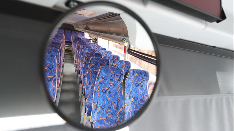 Пассажиропоток в автобусах Подмосковья сократился на 77% по сравнению с началом марта