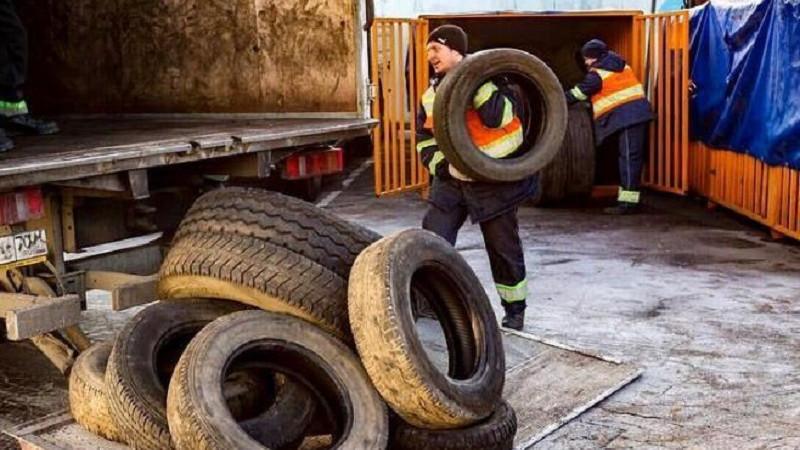 Почти 200 тонн утильных шин собрали на переработку в Дмитрове
