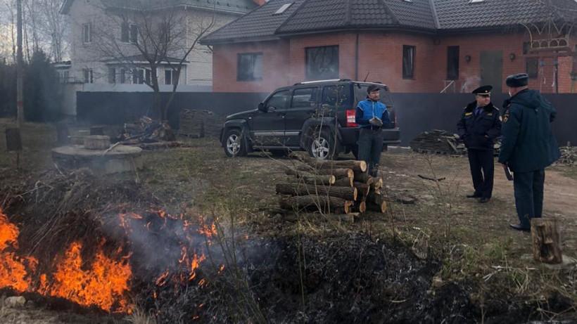 Почти 800 объектов проверил Госадмтехнадзор в ходе противопожарных рейдов в регионе
