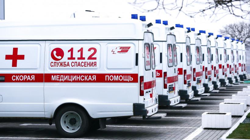 Почти тысяча бригад скорой и неотложной помощи ежедневно задействованы в Подмосковье