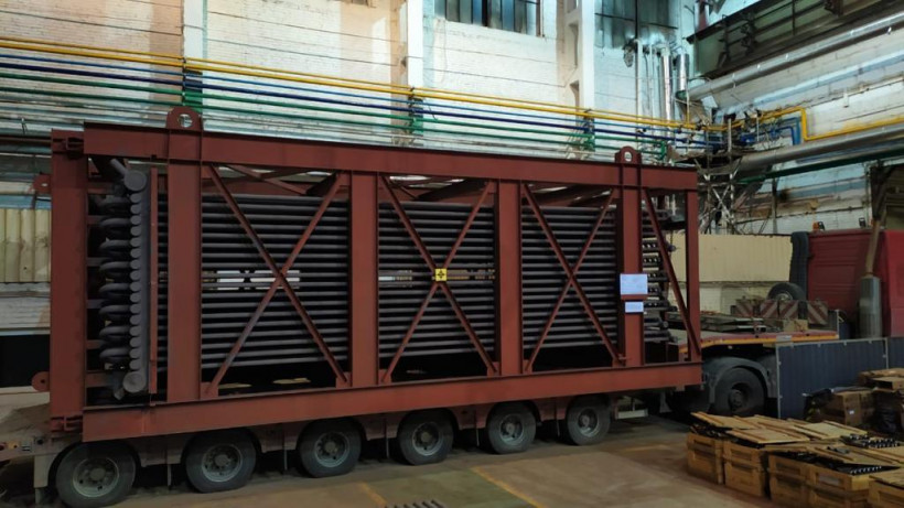 Подмосковное предприятие отгрузило первую партию оборудования для британского завода