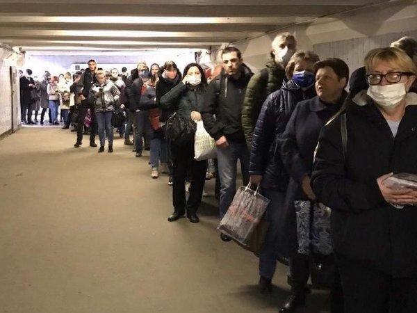 После давки в метро Собянин анонсировал новый порядок проверки пропусков в Москве