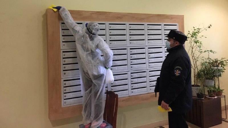 Проведение дезинфекции подъездов проверили в 7 тыс. многоквартирных домах Подмосковья