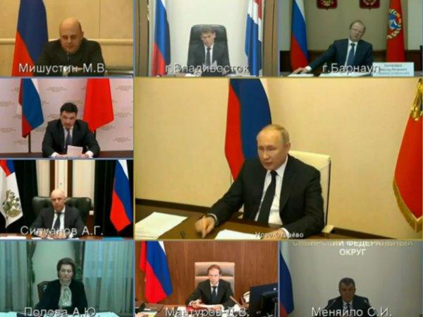 Путин пообещал доплатить врачам по 80 тысяч рублей за работу с больными коронавирусом