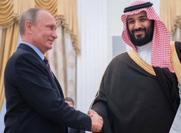 Саудовская Аравия обвинила Путина во лжи о причинах обвала цен на нефть