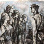 Виртуальная выставка «Графики о войне. В. Н. Минаев»